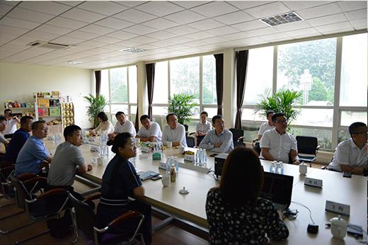 中国银行辽宁省分行行长贾天兵一行莅临贝博官方客户端花生